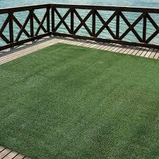 12 X 12 Outdoor Rug by Outdoor Turf Rug Green Artificial Grass Indoor Deck Patio Carpet