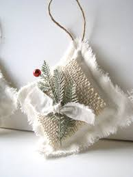 awesome ideas for burlap ornaments happy day