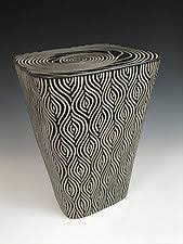 Ceramic Side Table Side Pedestal Tables Crafted By Artists Artful Home