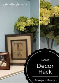 Home Decor Tutorial by Diy Home Decor Hack From Your Pantry Gabrielle Tyler