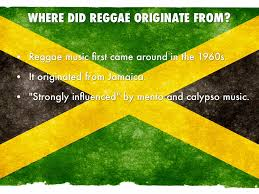 reggae by mitchell