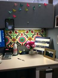 cubicle theme ideas decoration best office decorations on need to