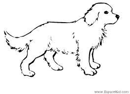 coloriage chien à colorier dessin à imprimer chien pour