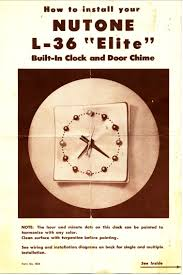 your site name nutone door chime catalogs nutone l36 chime