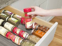Spice Rack In A Drawer 32 Products Guaranteed To Give You The Most Organized Kitchen