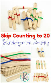 kindergarten worksheets and games craft stick skip counting