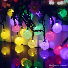 solar powered fairy lights for trees solar powered christmas lights ball led solar string lights 16ft 20