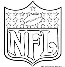 Nfl Football Coloring Pages Locca Info Football Coloring Page