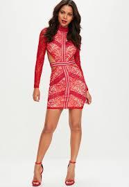 dresses short u0026 long sleeved dress missguided