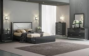 Lotus Bed Frame Lotus Gray Modern Platform Bed Contemporary Beds