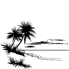 palm tree and beach pictures free download clip art free clip