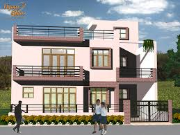 triplex house plans apnaghar house design complete architectural solution page 9