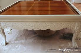 Diy Tufted Ottoman Thrift Store Coffee Table Turned Diy Tufted Ottoman Artsy