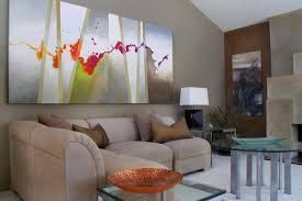 livingroom paintings how to use abstract wall in your home without it look out