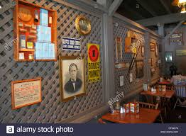 stuart florida cracker barrel restaurant interior decor americana