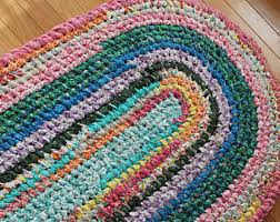 How To Rag Rug Kitchen Rag Rug Etsy