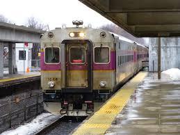 Commuter Rail by Miles On The Mbta Malden Center