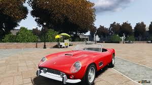 Ferrari California Gt 250 - 250 gt california for gta 4
