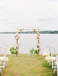 wedding arches michigan unplugged nautical lake michigan wedding lake michigan wedding