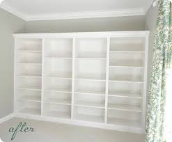 Rta Bookcases 5 Ways To Fake Built In Shelving Infarrantly Creative