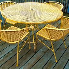 Retro Patio Furniture For Sale by Wrought Iron Patio Tables Sale U2013 Smashingplates Us