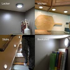 amazon com ottff motion sensor kitchen led cabinet lighting light