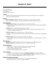 Sample Recent Graduate Resume New Grad Nurse Cover Letter Example Recent