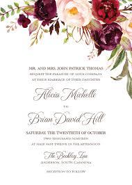 autumn wedding invitations autumn wedding invitations paperwhites wedding invitations