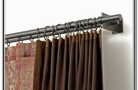 great french door curtain rods ideas for your home u2014 dahlia u0027s home