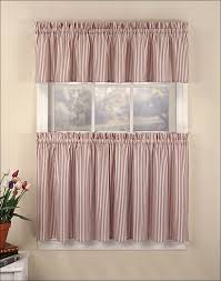 Kitchen Sheer Curtains by Brown Sheer Curtains With Valance Curtains At Kmart Kitchen