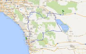 joshua tree california map road trip san diego to joshua tree national park and back in a