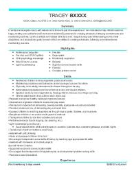 Example Of Nanny Resume by 1 763 Nannies Resume Examples In Utah Livecareer