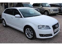 used audi tdi used audi a3 2013 model 1 6 tdi sport 5dr diesel hatchback white