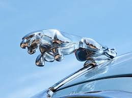 the leaping jaguar is a ornament from a vintage 3 4 s type