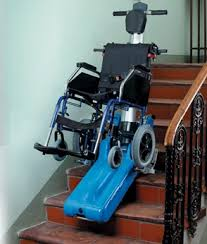 portable wheelchair stair lift f