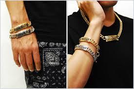 bracelet gold man silver images Solt and pepper rakuten global market 63 off sale cheap jpg