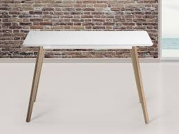 Dining Table White Legs Wooden Top Fly Dining Table White Top With Slim Wooden Legs Dining Tables