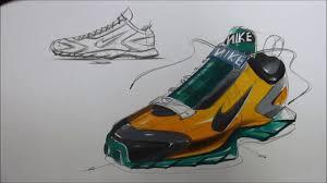 shoes sketch u0026 marker technique youtube