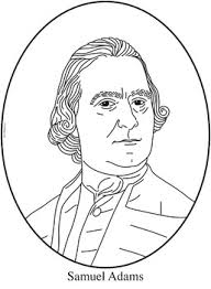 Samuel Adams Clip Art Coloring Page Or Mini Poster By Cordial Clips Samuel Coloring Pages