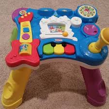 sit to stand activity table find more playskool rocktivity sit to stand activity table for sale