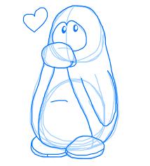 penguin sketch by doddlefur on deviantart