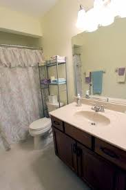 Bathroom Vanity With Linen Tower Cleveland Cultured Marble Countertops Bathroom Traditional With