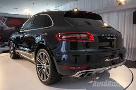 porsche cayenne price malaysia 2014 porsche macan officially available in malaysia price from