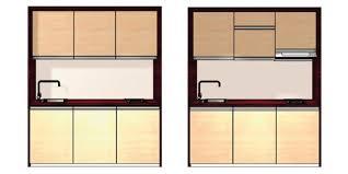 cuisines compactes les cuisines prêtes à poser idéales petits espaces