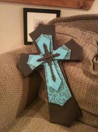 decorative wooden crosses handmade layered wood cross by