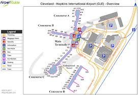 Boston Airport Terminal Map by Cleveland Hopkins Airport Map My Blog