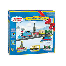 u0026 friends ho scale christmas express electric train set by bachmann