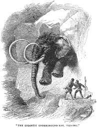 zpi burrowing mammoths siberia