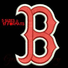 boston sox embroidery designs digital by gretaembroidery on zibbet
