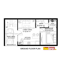 house plan for 35 feet by 18 feet plot plot size 70 square yards